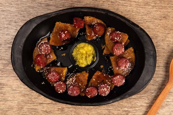 Chorizos bien jinchos - Restaurante Mano Bucaramanga