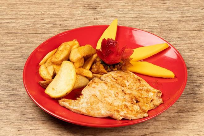 Manito Asado de Pollo - Menu Infantil - Restaurante Mano Bucaramanga